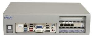 генератор трафика Spirent C1 с поддержкой IEEE 802.3bz