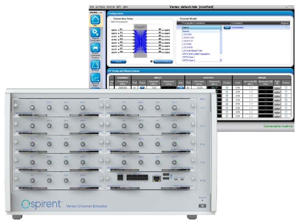 модульный эмулятор радиоканалов Vertex